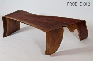"""Origami"" Reclaimed Walnut Coffee Table"