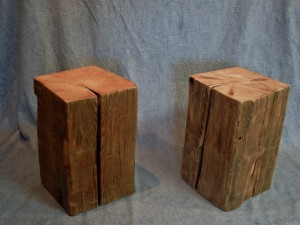 Reclaimed Beam Block Tables