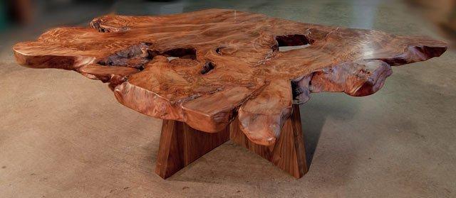 Kauri and Walnut Coffee Table